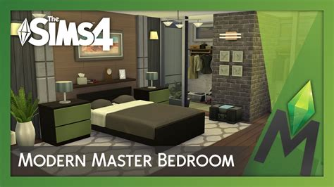sims 3 4 bedroom house design the sims 4 room building modern master bedroom