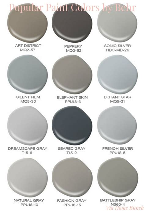behr paint colors interior gray the 25 best popular paint colors ideas on