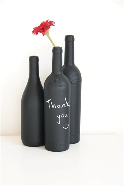 diy chalkboard bottles made by me diy chalkboard painted bottles write a
