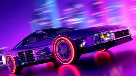 80s Car Wallpaper by Thinking Keysets