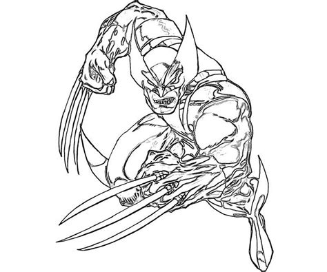 coloring book pictures to print printable wolverine coloring pages coloring me