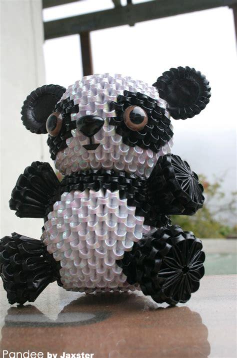 3d origami panda 3d origami panda 3d origami
