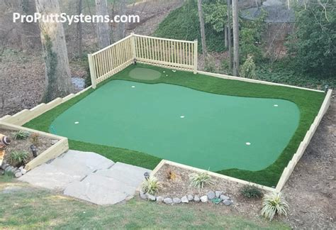 backyard putting green kit do it yourself putting greens custom putting greens