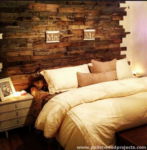 make wood headboard cozy pallet headboard ideas pallet wood projects