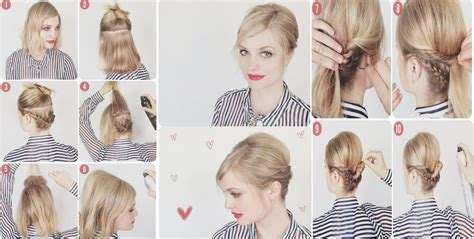 peinados pelo corto mujer paso a paso peinados para pelo corto 187 paso a paso