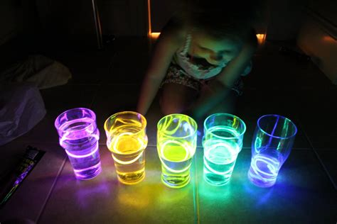 glow stick crafts for play at home llc water xylophone