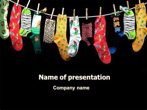 socks power point templates socks presentation theme