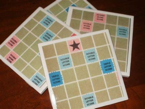 is rite a word in scrabble scrabble coasters craft ideas