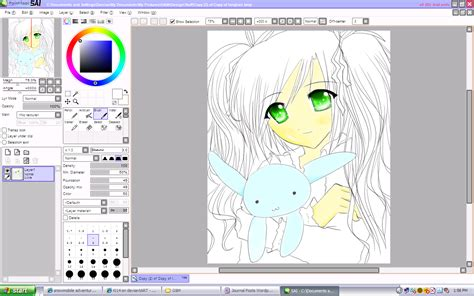 paint tool sai sai software of