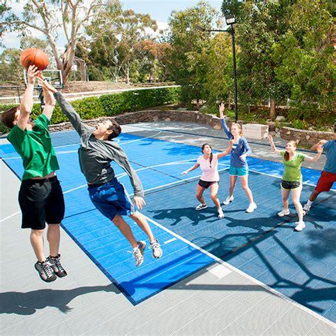 backyard sport courts family sport courts convenient backyard courts sport