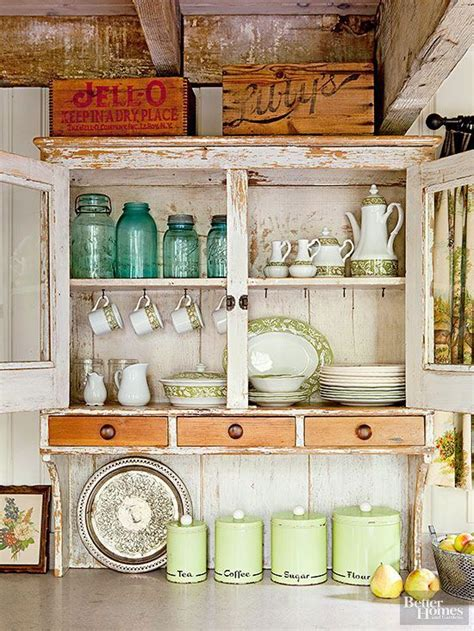 vintage kitchen decor ideas 15 ideas for decorating above kitchen cabinets cabinets
