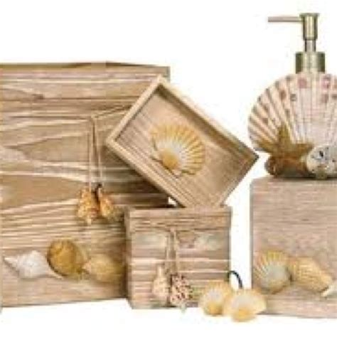 seashell bathroom accessories 17 best images about seashell bathroom decor ideas on