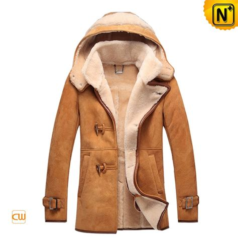 leather and shearling jacket sheepskin leather fur jacket with cw877133