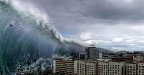 mega tsunami with 800 ft wave could wipe out mankind