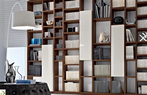 Modern Design Elements booki modern bookcase arredo design online