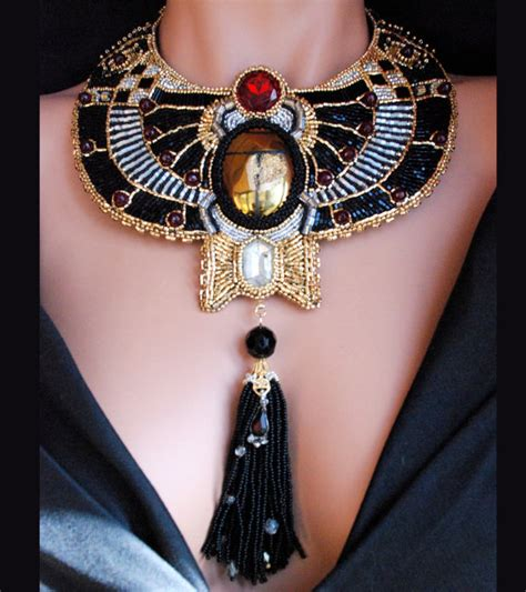 how to make a collar necklace with beautiful themed collar necklaces alldaychic