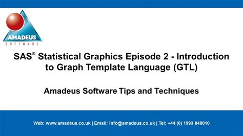 sas tip sas statistical graphics episode 2 introduction
