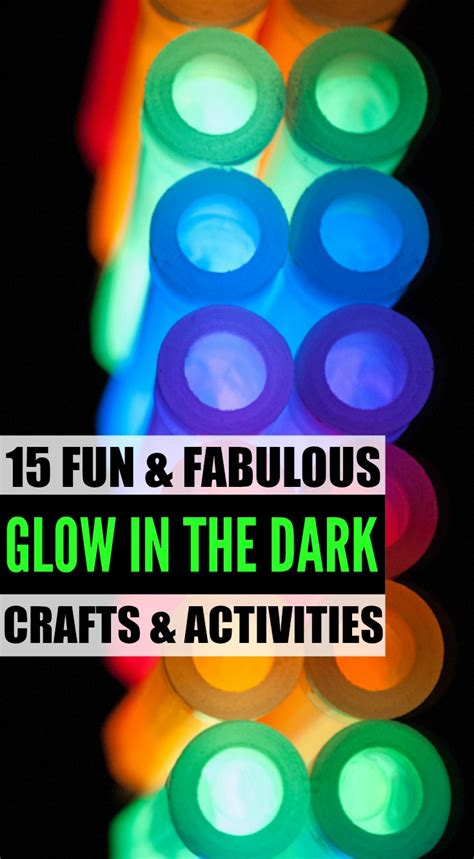 glow in the crafts for 15 glow in the crafts and activities for