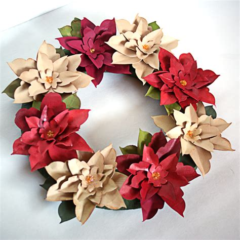 paper poinsettia craft how to make paper poinsettia flowers search