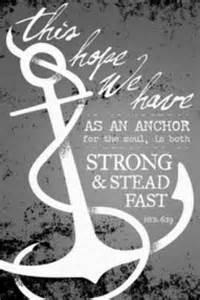 hope anchors the soul mrspeazel