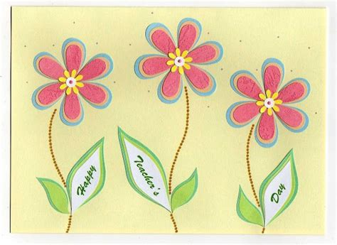 card designs for teachers day 17 best ideas about handmade teachers day cards on