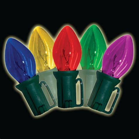 brite 25 light multi color fashioned lights set