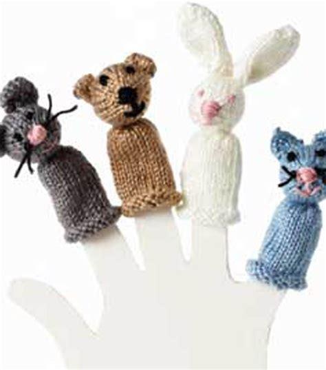 knitted puppets free patterns 17 best images about crochet knit finger puppets on