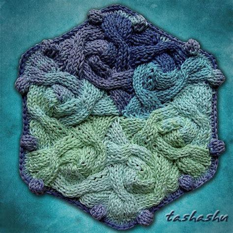 hexagon knitting pattern free hexagon knitted pattern by svetlana gordon