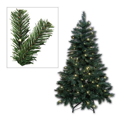 weihnachtsbaum led beleuchtung k 252 nstlicher weihnachtsbaum christbaum mit led beleuchtung