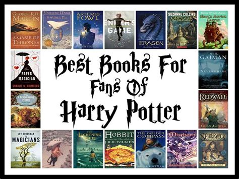 The Best Books For Fans Of Harry Potter Book Scrolling
