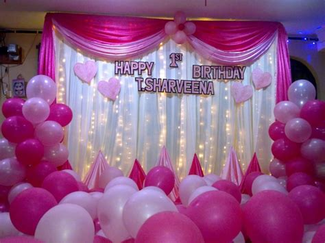 birthday decorations for husband at home balloon decoration ideas for birthday at home for