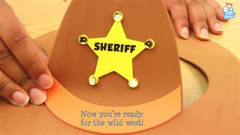 how to make a hat out of card how to make a cowboy hat