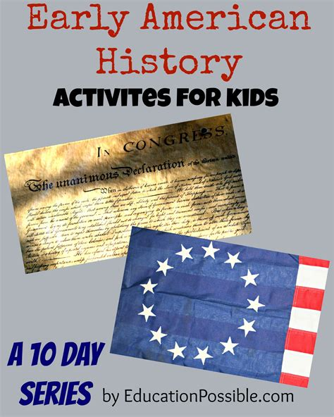 history crafts for early american history activities for
