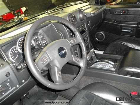 2007 hummer h2 6 0 v8 luxury alcantara car photo and specs 2007 hummer h2 6 0 v8 luxury alcantara car photo and specs