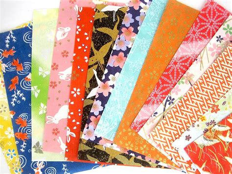 the origami paper shop origami paper pack yuzen japanese paper chiyogami scrapbook