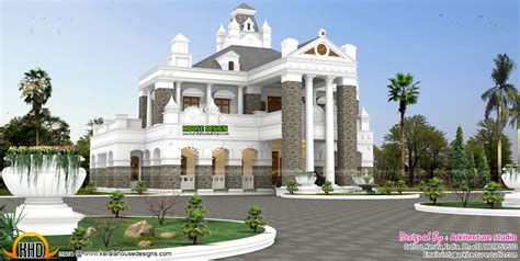 colonial style home design in kerala unique colonial style exclusive home design kerala home