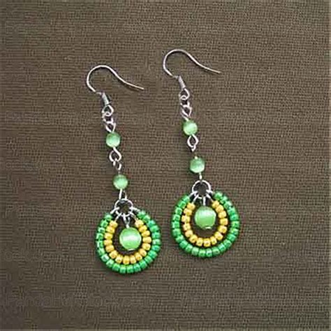 how to bead earrings with seed 15 diy seed bead earring patterns guide patterns