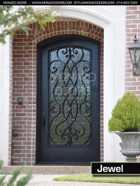metal front doors for homes with glass iron door manufacturer iron doors and gates monaco doors