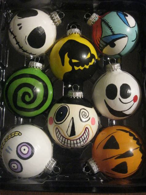 nightmare before ornament nightmare before ornaments decorating