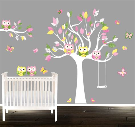 etsy nursery wall decals etsy wall decals nursery nursery wall decal tree with