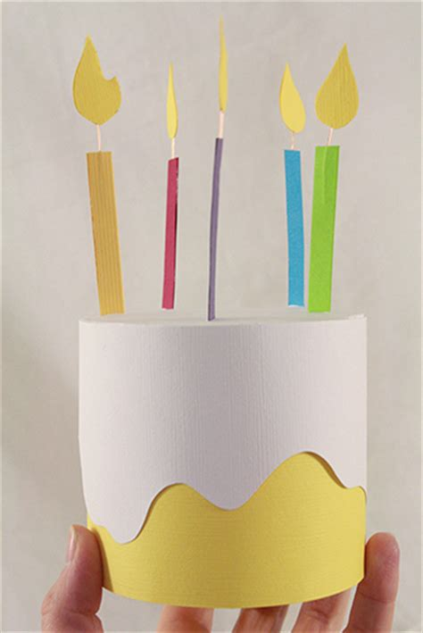 cake craft for paper birthday cake box family crafts