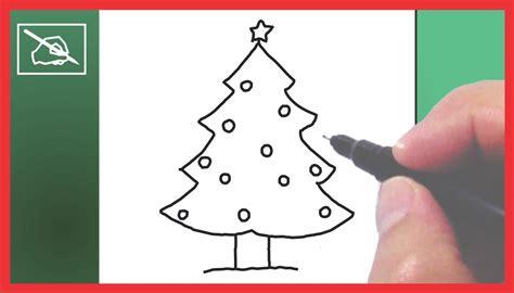 imagenes de un arbol de navidad c 243 mo dibujar un 193 rbol de navidad drawing a chritmas tree