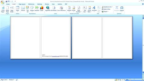 card on microsoft word greeting card template word 2010 besttemplates123