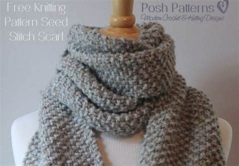 how to switch between knit and purl keep classically warm with a seed stitch scarf knitting