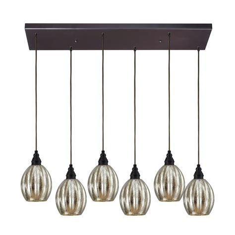 multi light pendant multi light pendant light with mercury glass and 6 lights