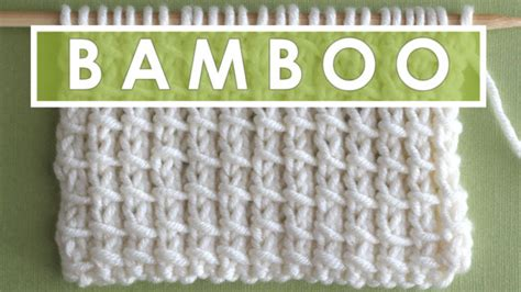 bamboo knitting patterns how to knit the bamboo stitch pattern studio knit