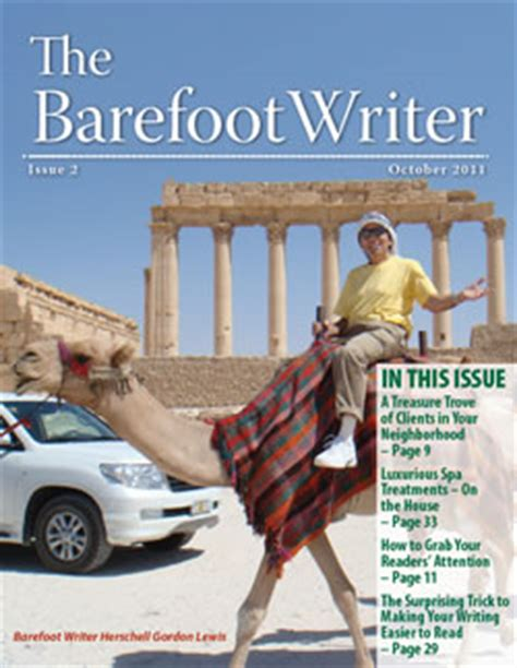 barefoot writer careers in writing are within reach for barefoot writer