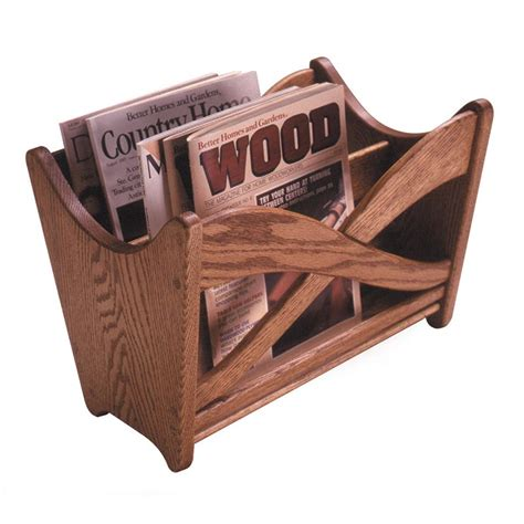 woodworking cl rack plans magazine rack woodworking plan from wood magazine