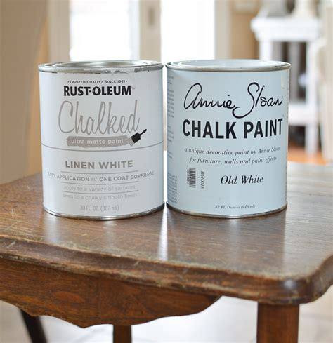 chalkboard paint vs flat paint sloan chalk paint vs rust oleum chalked paint