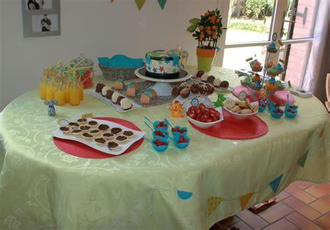 deco table anniversaire fille 3 ans
